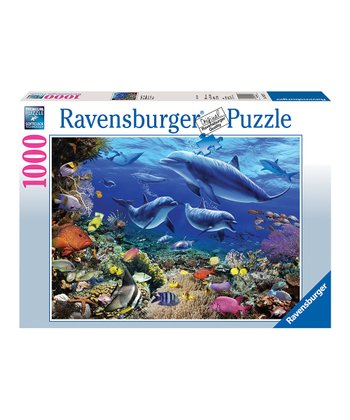 Family of Dolphins Puzzle