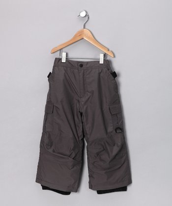 Steel Cargo Snow Pants - Toddler & Boys