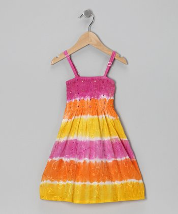 Sunset Tiered Dress - Toddler & Girls