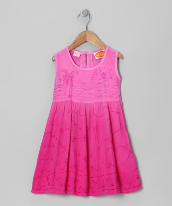 Hibiscus Beach Dress - Toddler & Girls