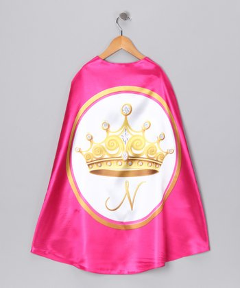 Fuchsia Princess Initial Cape