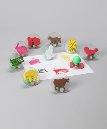 Farm Adventure Stamp Set
