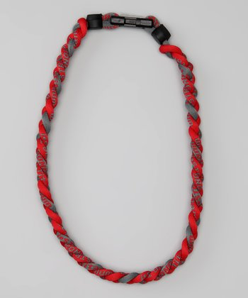 Scarlet & Gray Fanwear Titanium Sports Necklace
