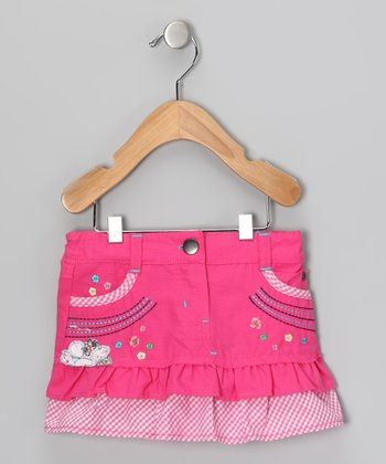 Pink Ruffle Skirt - Infant, Toddler & Girls
