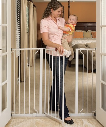 Regalo Extra-Tall Expanding Walk-Through Safety Gate