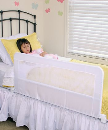 Regalo White Deluxe Swing-Down Bed Rail