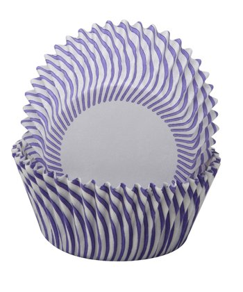 Purple Pisa Cupcake Wrapper - Set of 60