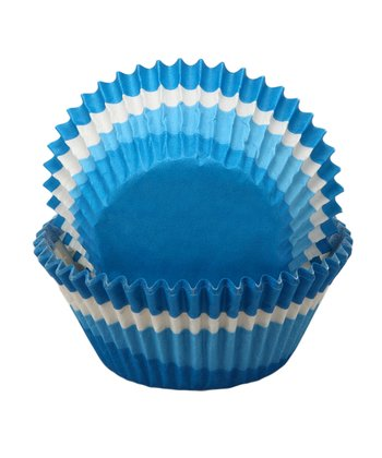 Blue Swirl Cupcake Liner - Set of 60