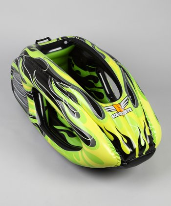 Black & Lime Inflatable Snow Racer