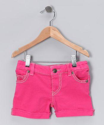 Rose Quartz Shorts - Toddler & Girls