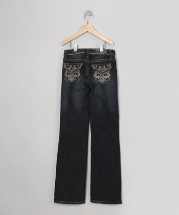 Blue Zuma Flare Jeans - Girls