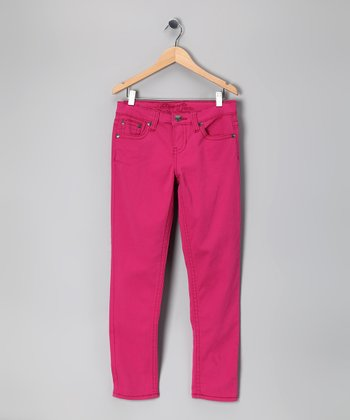 Rose Quartz Skinny Jeans - Girls