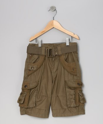 Forest Cargo Shorts - Boys