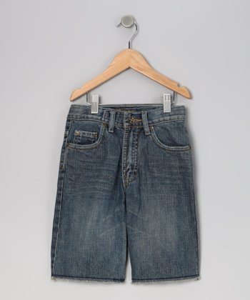 Request Jeans Blue Justin Denim Shorts - Toddler & Boys