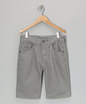 Light Gray Shorts
