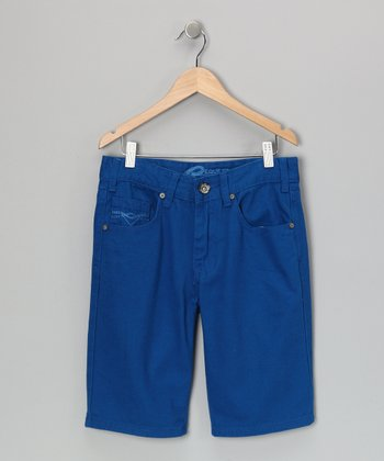 Royal Blue Shorts - Boys