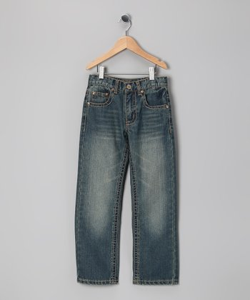Blue Fade Devon Jeans - Boys