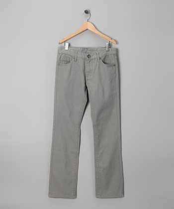 Request Jeans Light Gray Pants - Boys