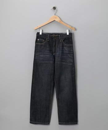 Black Ryan Monroe Distressed Jeans - Boys
