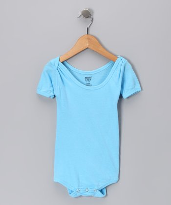 Neon Blue Bodysuit - Infant