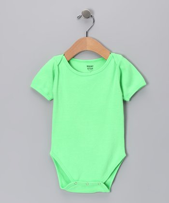 Neon Green Bodysuit - Infant