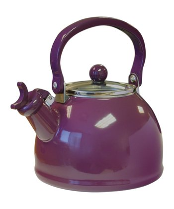 Plum 2.2-Qt. Whistling Teakettle