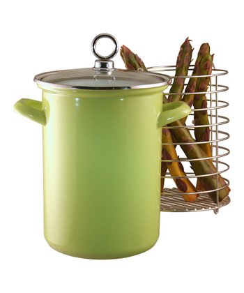 Lime Calypso Basics Asparagus Pot
