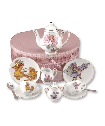 Flower Fairies 12-Piece Tea Set