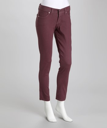 Blackberry Stretch Skinny Jeans