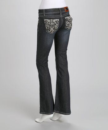 Denim Bling on the Hide Bootcut Jeans