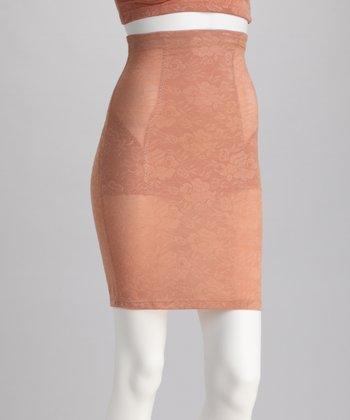 Honey Mesh Lace High-Waisted Shaper Slip - Women & Plus