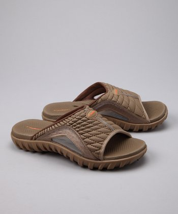 Beige Relay IV Slide - Women