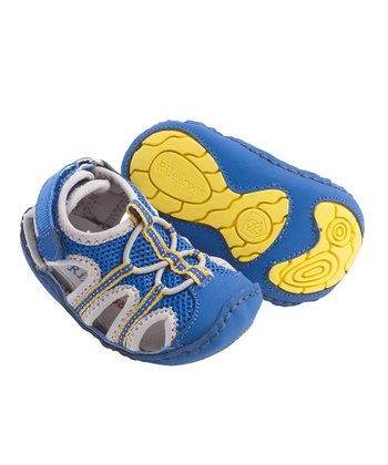 Blue & Yellow Patrick Shoe