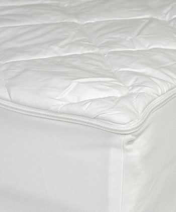 kathy ireland RESORT Easy Zip Removable Mattress Pad