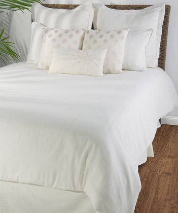 White Astoria Duvet Set