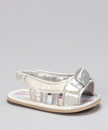Rocawear Off-White Knotted Sandal
