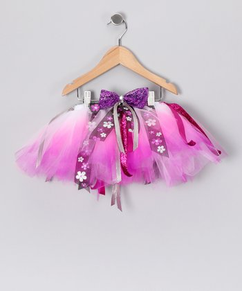 Pink & Purple Daisy Tutu - Toddler & Girls