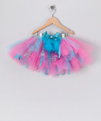 Pink & Turquoise Grace Tutu - Toddler & Girls