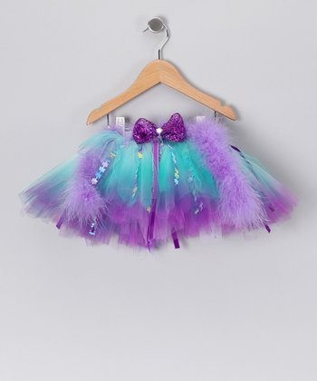 Green & Purple Jessica Tutu - Toddler & Girls