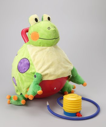Fergie the Frog Bouncersize Ball Set