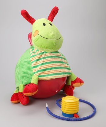 Gregory the Grasshopper Bouncersize Ball Set