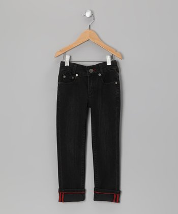 Black Danny Skinny Jeans - Infant, Toddler & Kids