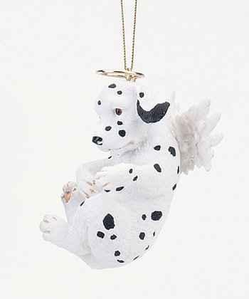 Dalmatian Puppy Angel Ornament