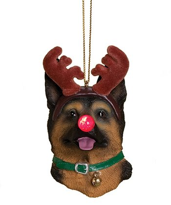 German Shepherd Dog Light-Up Ornament