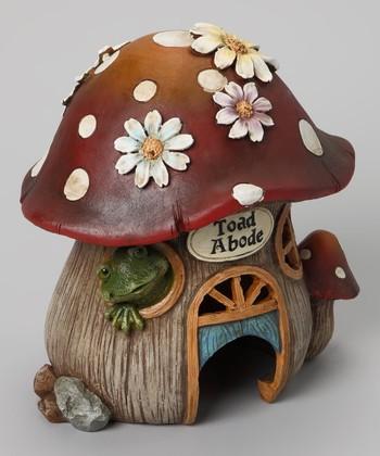 'Toad Abode' Garden Statue