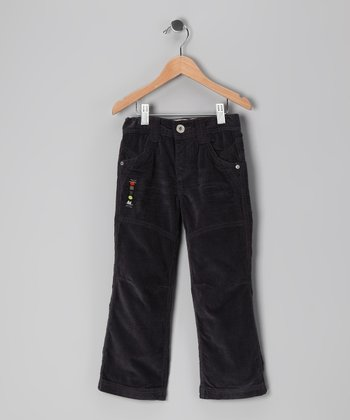 Black Straight-Leg Pants - Toddler & Boys
