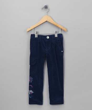 Estate Blue Swirl Pants - Girls