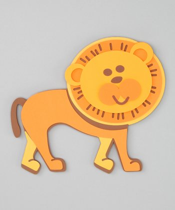Lion 3-D Wall Decal