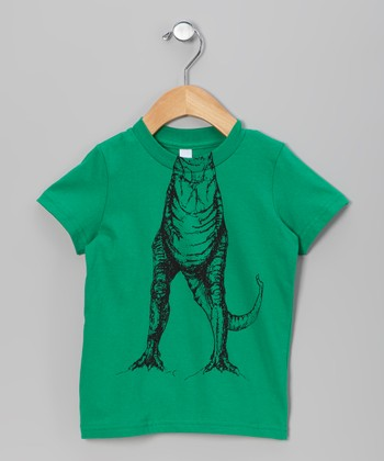 Green T-Rex Body Tee - Toddler & Kids