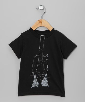 Black Swan Body Tee - Toddler & Boys